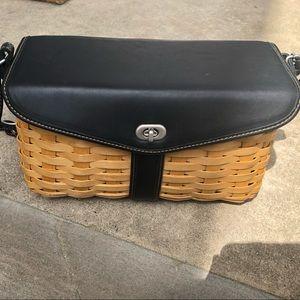 Longaberger Basket Signature Shoulder Bag